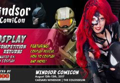 Cosplay Competition Returns to Windsor ComiCon!