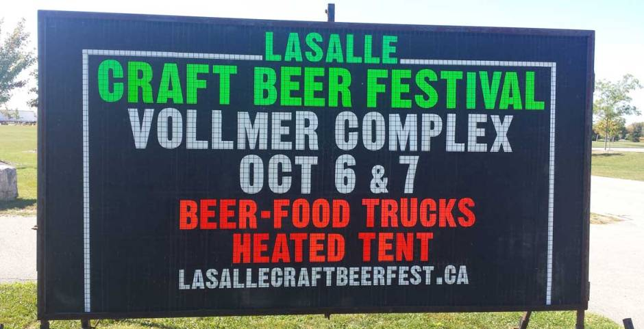 Cheers to the LaSalle Craft Beer Festival