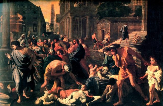POUSSIN-Nicolas-The-Plague-of-Ashdod-Painting-