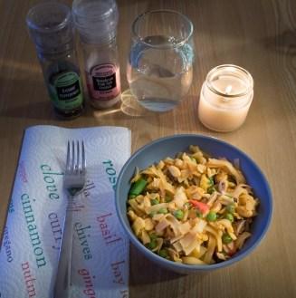 Spicy Thai Noodles (Day 6)