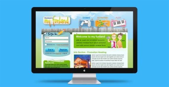 myfunland website design