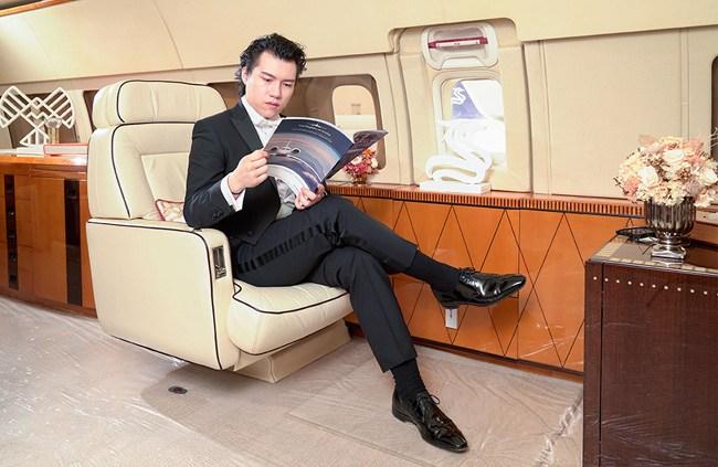 华龙航空BBJ公务机为Z Xavier带来全新飞行感受