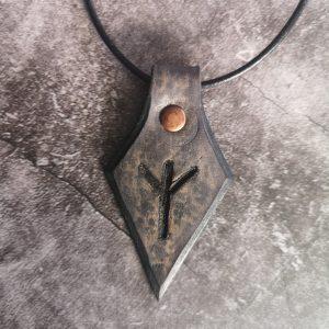 pendentif rune algiz