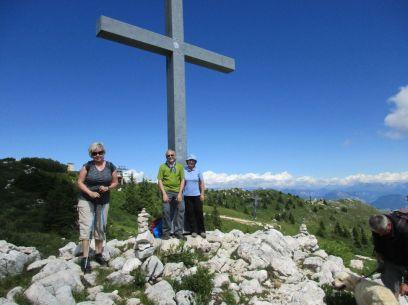 Milan so Soňou sa vybrali od lanovky na druhú stranu a dosiahli vrchol Cima delle Pozzette, 2132 m.