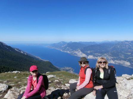 Po náhornej planine Colma di Malcesine smerujeme na Cime di Ventrar.