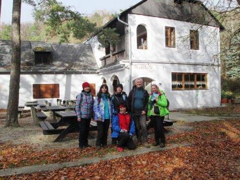 Na Fesslhütte sme sa občerstvili.