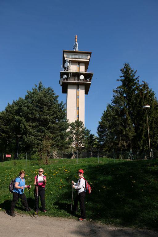 Vysielač nad Radíkovom, hneď vedľa pevnosti Fort II.