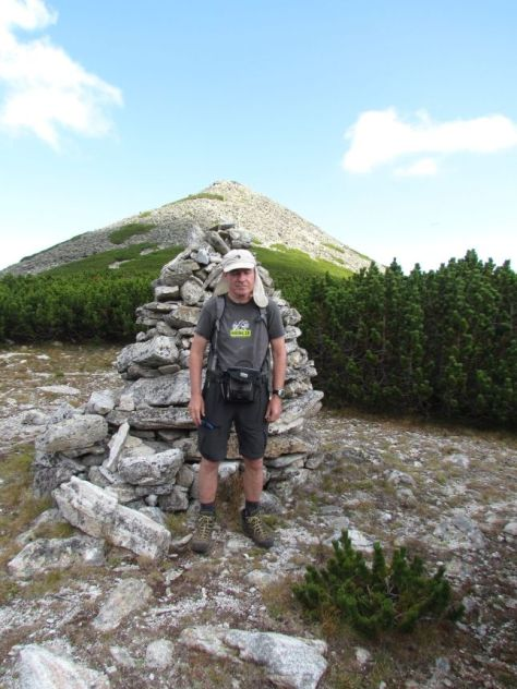 Okolo vrchu Šatar, 2495 m som prešiel túru, ktorá podľa domácich je nepriechodná.