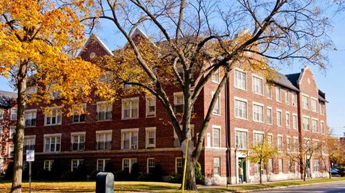 Evanston apartments
