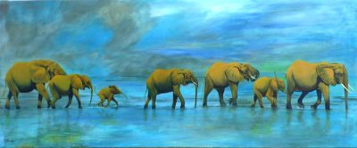 Floodwaters-of-the-Selous-Acrylic-60x150