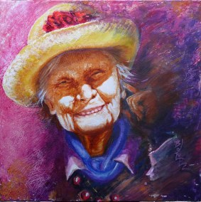 Straw-Hat-Smile-Acrylic-40x40