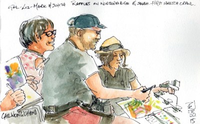07 Singapore-First Sketchwalk-the sketchers
