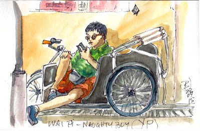 15 Singapore-Naughty YP Rickshaw