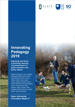 Innovating Pedagogy 2019 cover