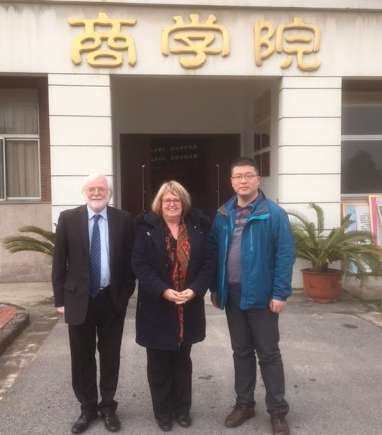Jenny Kent Michael KIernan in China
