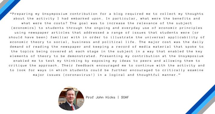 John Hick's testimonial