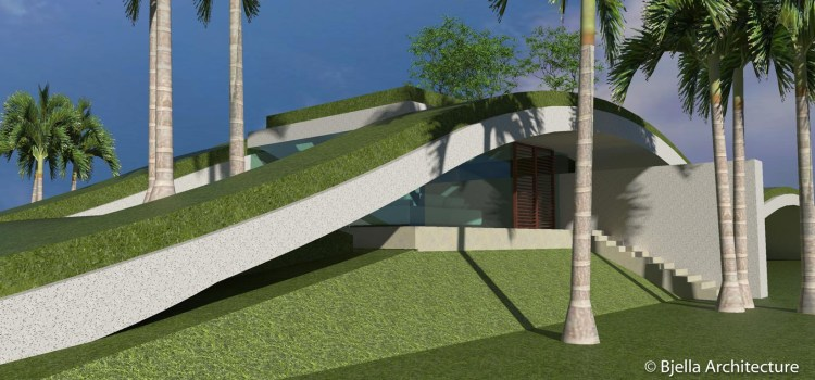 Goin' Green in Hawaii – A Wavy Modern Concept Home