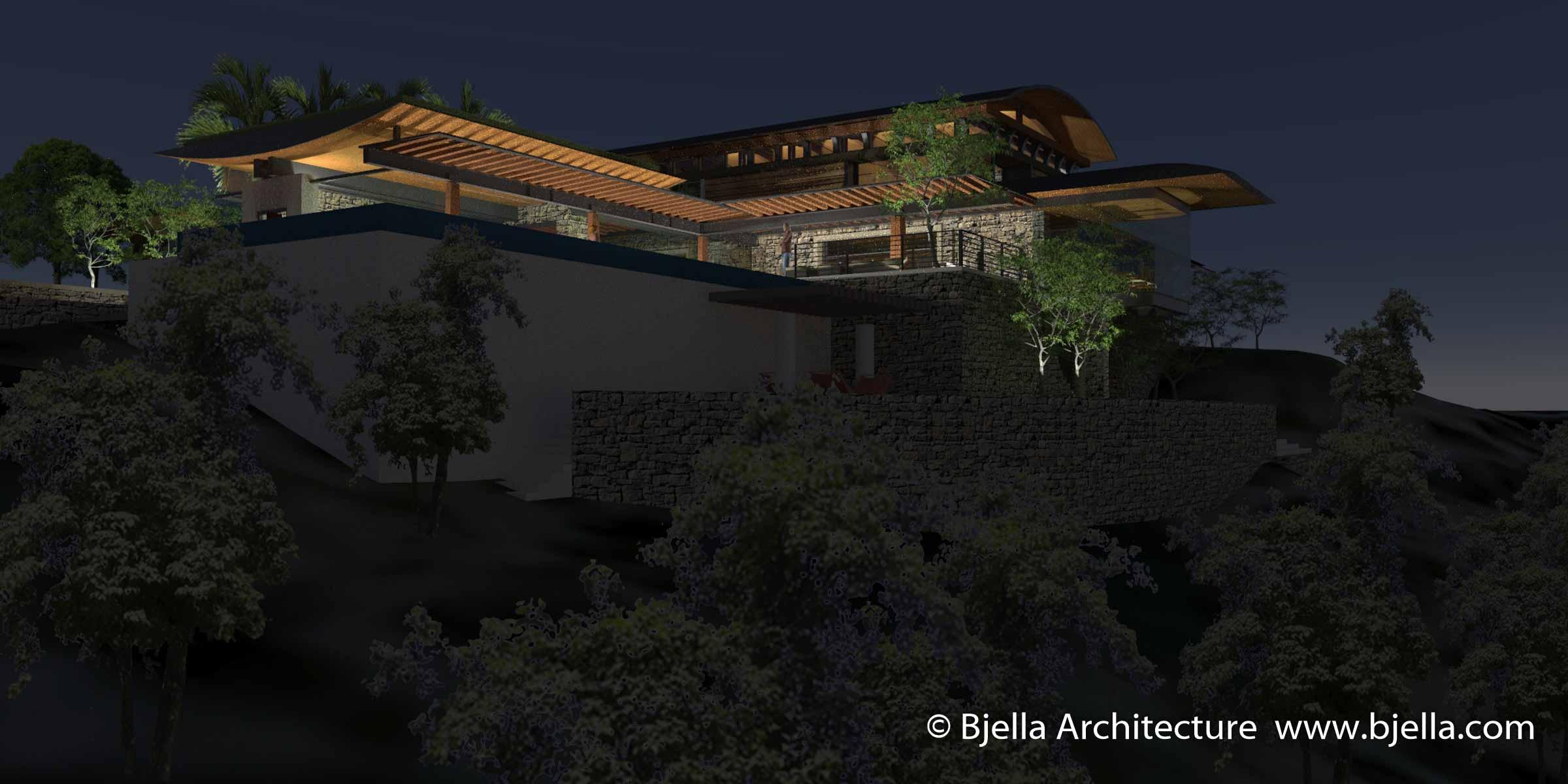 Los Angeles Hilltop Modern Glass House