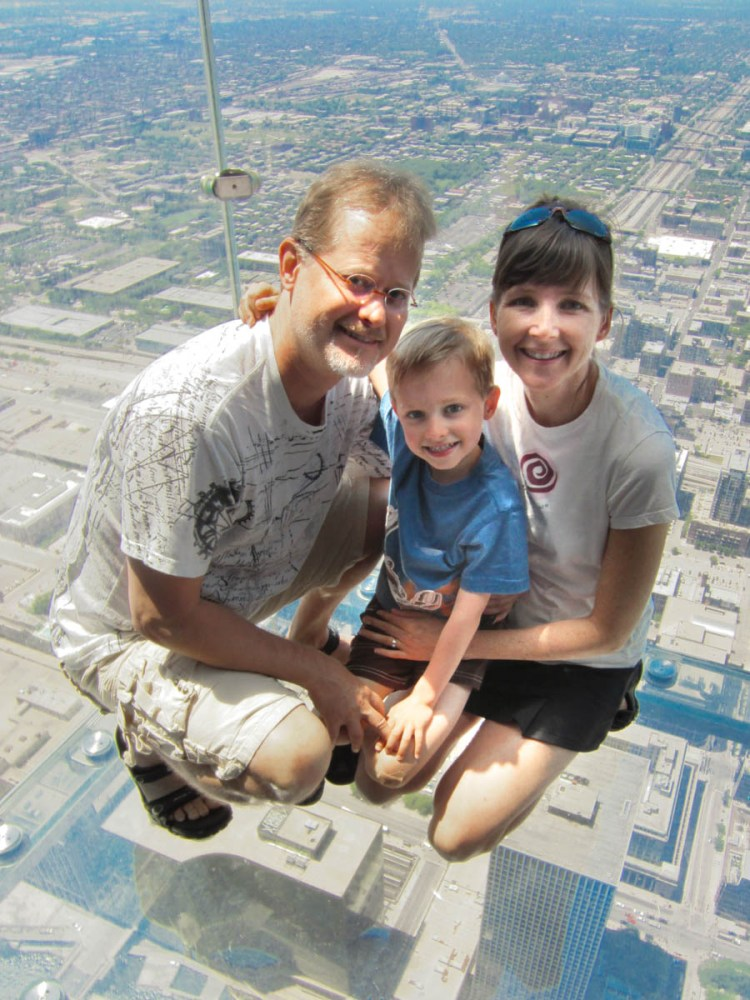 Willis Tower Glass Observation Pod