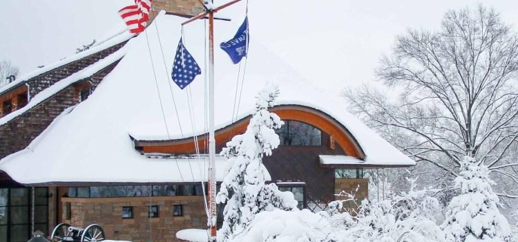 Winter Wonderland – Modern Cottage Missouri Home Draped in Snow