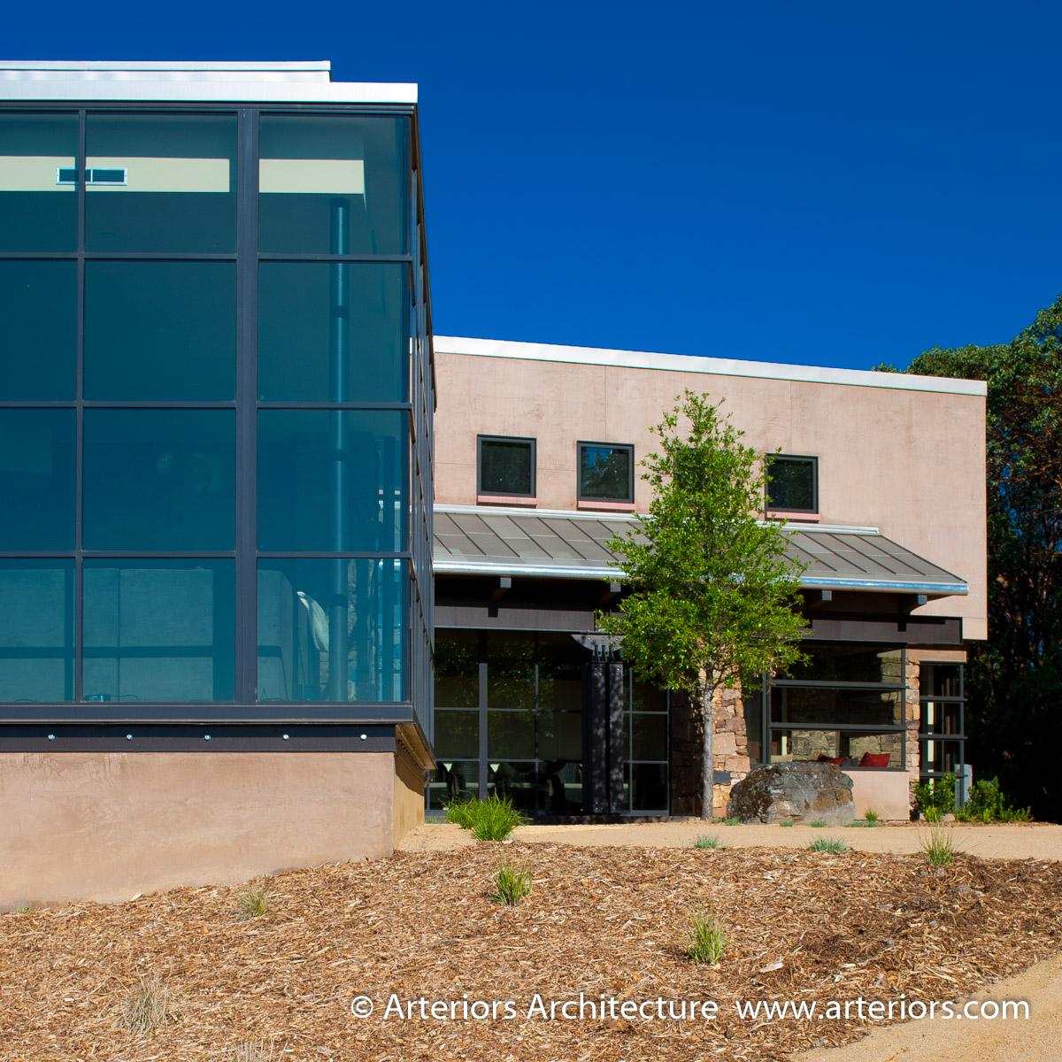 Modern Sonoma California Glass House on Vineyard-3