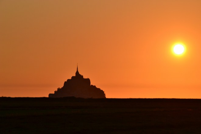 Le Mont Saint Michel Sunset