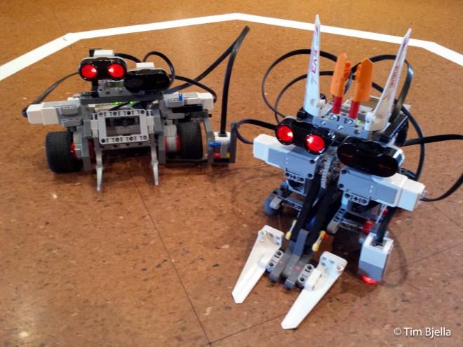 Lego Sumo Robots