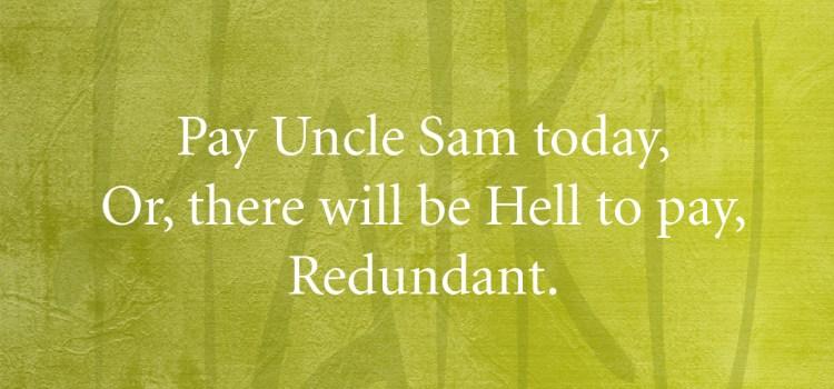 A Haiku Reminder