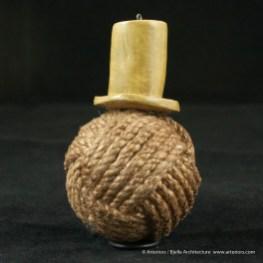 Bjella Snowman Ornament - Day 11 - Rope-17