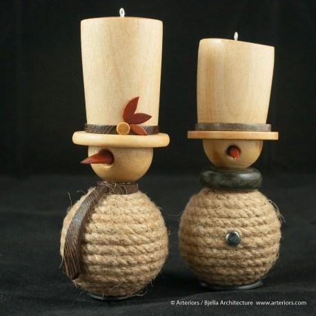 Bjella Snowman Ornament - Day 11 - Rope-3