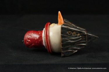 Bjella Snowman Ornament - Day 12 - Tectonic-86