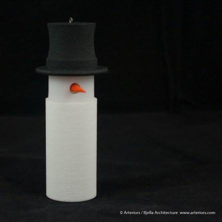 Bjella Snowman Ornament - Day 12 - Tectonic-90
