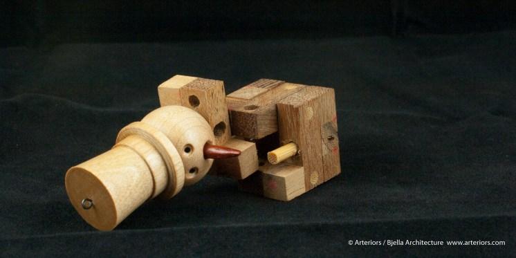 Bjella Snowman Ornament - Day 13 - Puzzle-35