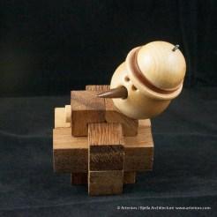 Bjella Snowman Ornament - Day 13 - Puzzle-39