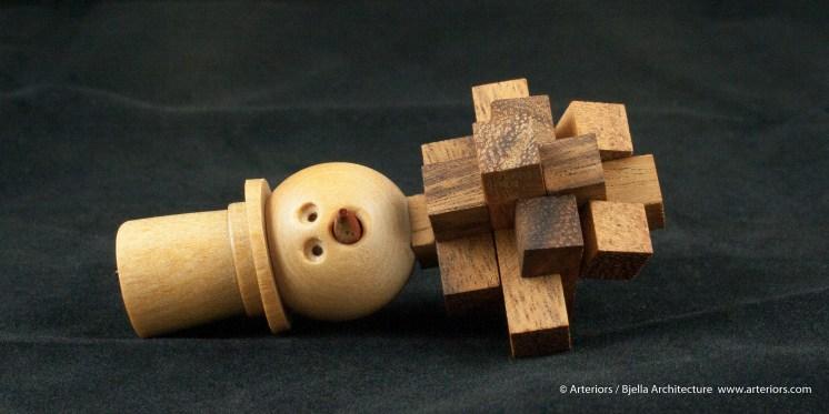 Bjella Snowman Ornament - Day 13 - Puzzle-44