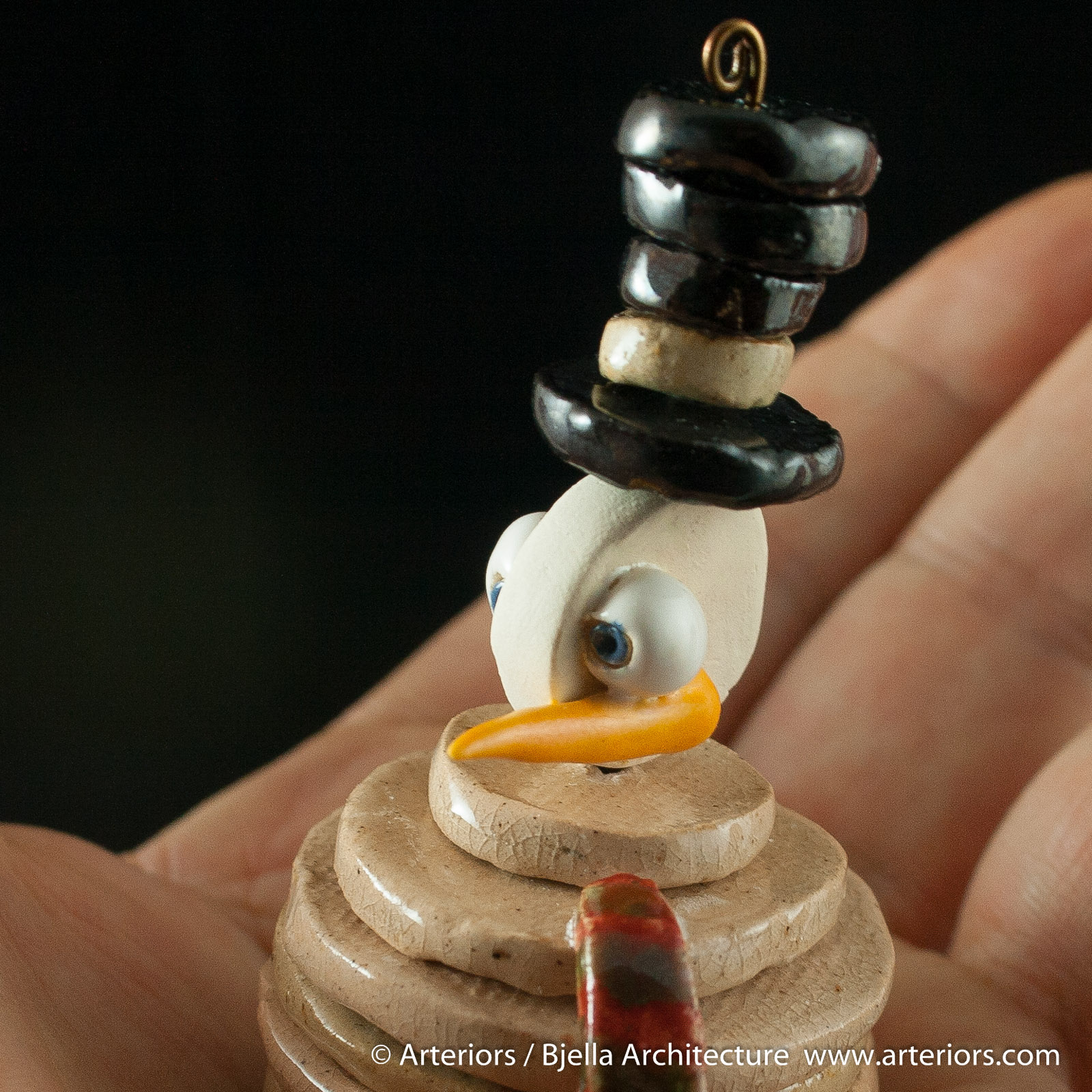 Bjella Snowman Ornament - Day 3 - Disc men-14