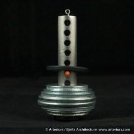 Bjella Snowman Ornament - Day 6 - Metal-17