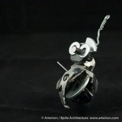 Bjella Snowman Ornament - Day 6 - Metal-27