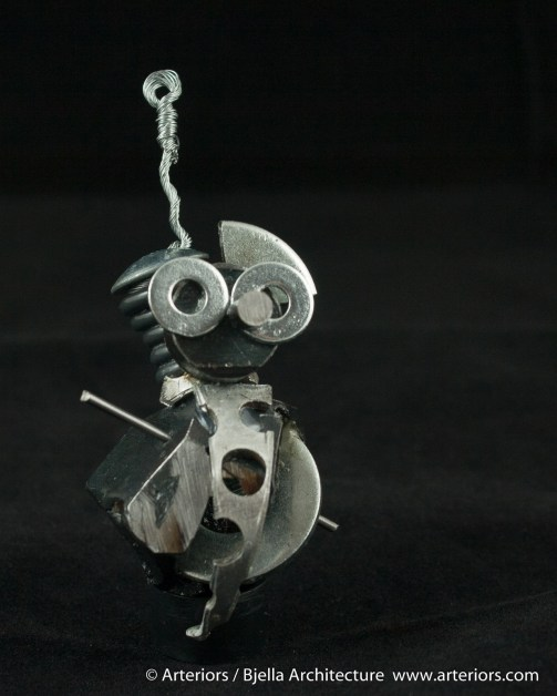 Bjella Snowman Ornament - Day 6 - Metal-29