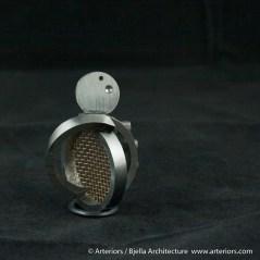 Bjella Snowman Ornament - Day 6 - Metal-31