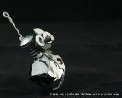 Bjella Snowman Ornament - Day 6 - Metal-34