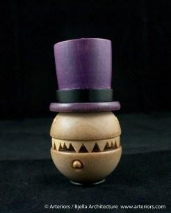 Bjella Snowman Ornament - Day 8 - Monsters-36