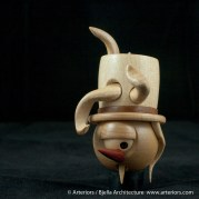 Bjella Snowman Ornament - Day 8 - Monsters-40