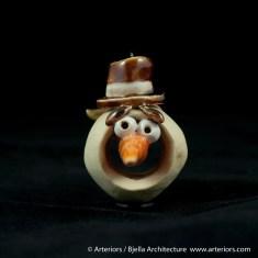 Bjella Snowman Ornament - Day 8 - Monsters-56