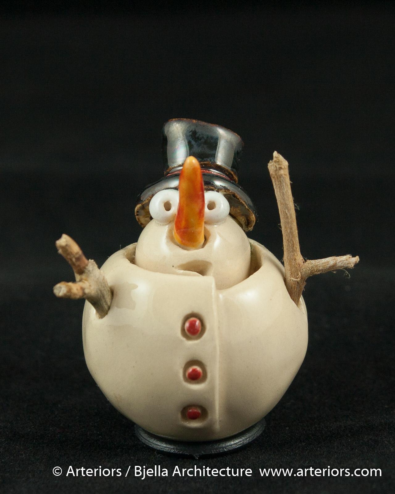 Bjella Snowman Ornament - Day 9 - Cutesy-18