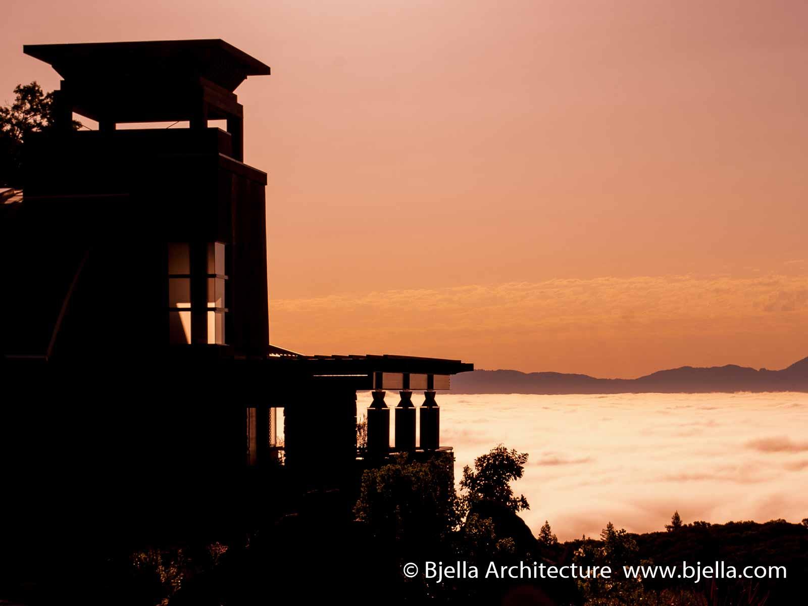 Bjella Architects Sonoma California Spiral Stair-3