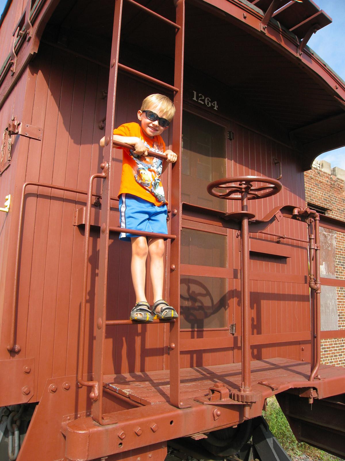 Bjella Family at Trainyard-4