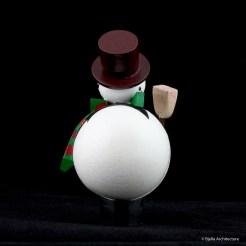 First Snowman Ornament by Tim Bjella-1
