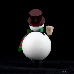 First Snowman Ornament by Tim Bjella-1