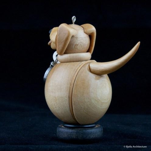 Snowman Ornament Labrador by Tim Bjella-7